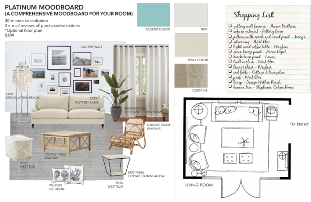 Platinum Mood Board Sea Interior Design 614x398 - Platinum Mood Board