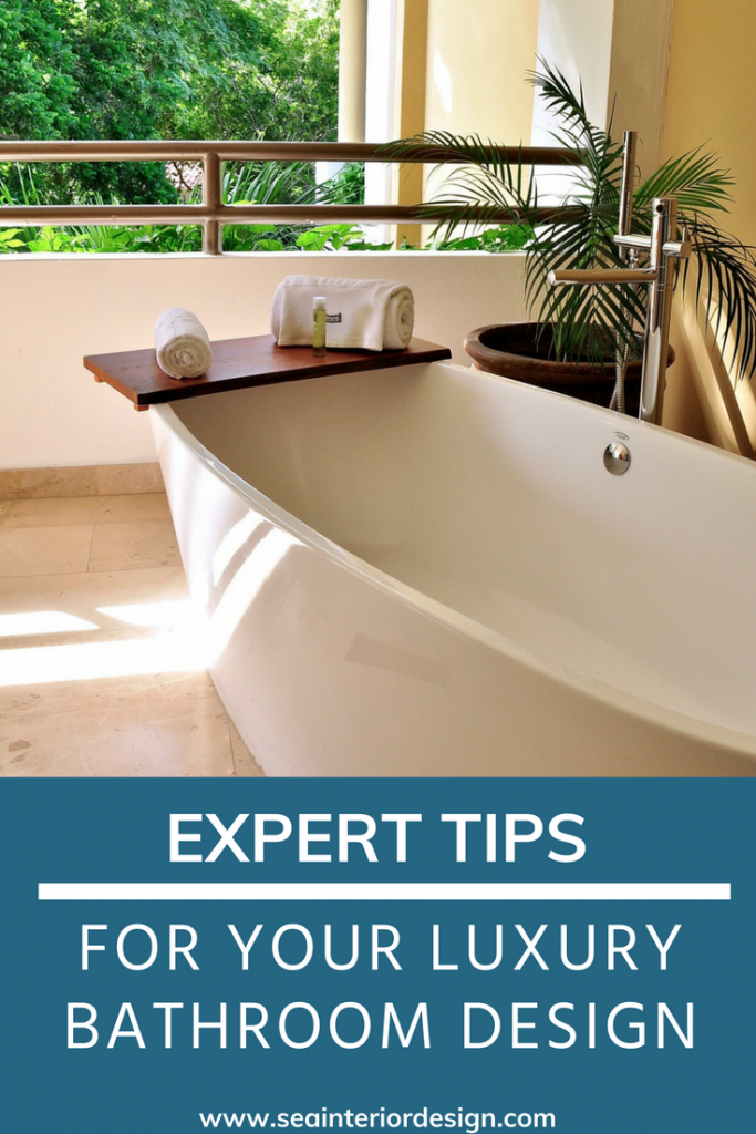 Tips For Your Luxury Bathroom Design