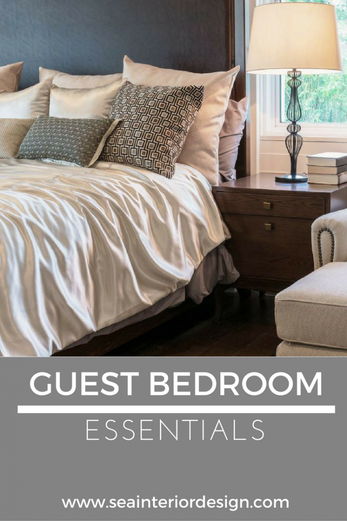 Guest bedroom essentials for Bedroom necessities