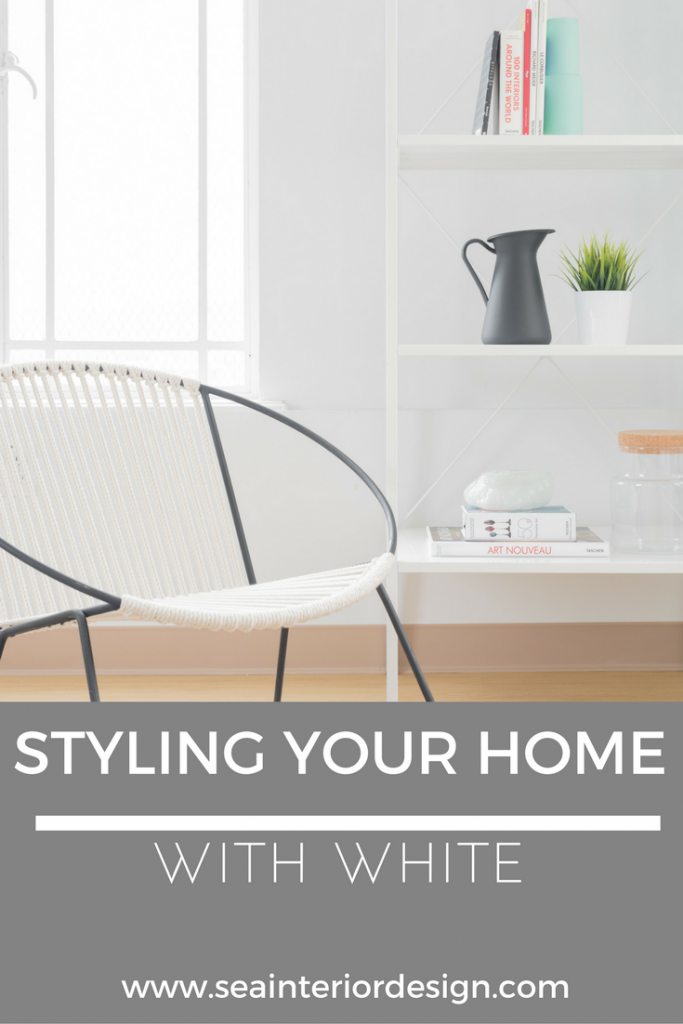 STYLING YOUR HOME WITH WHITE