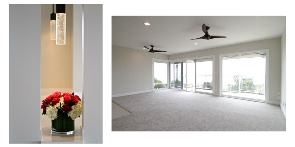 BEHIND THE SCENES ON ONE OF OUR PROJECTS - LAGUNA BEACH GETAWAY
