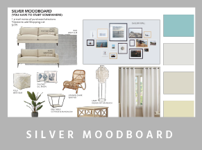 moodboard silver - Mood boards