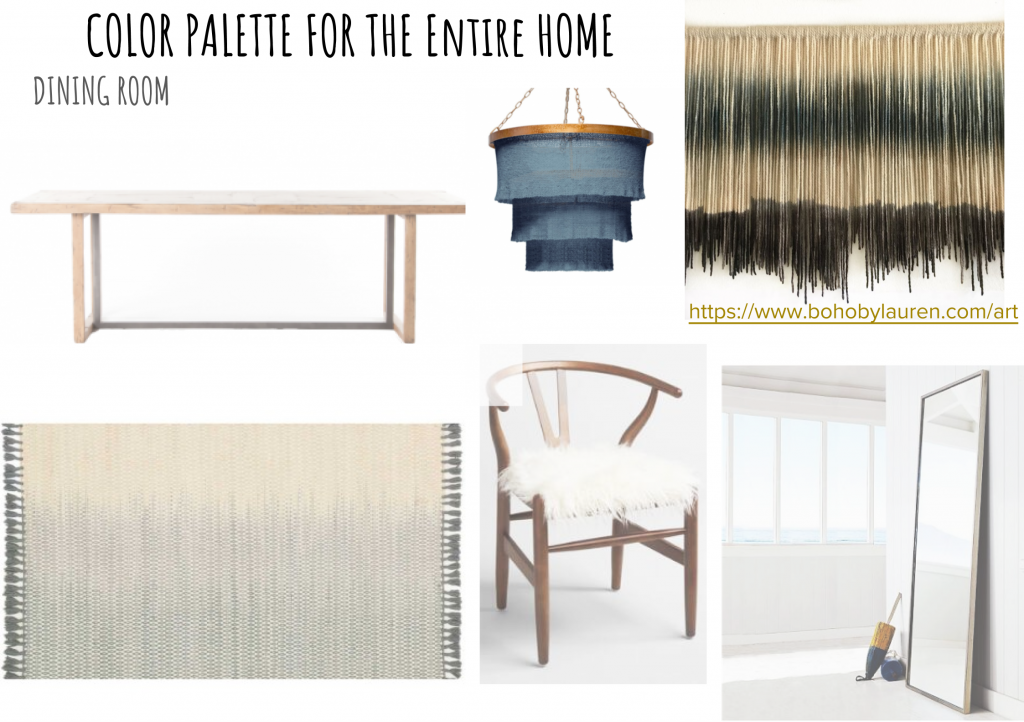 How to Create a Color Palette for Your Entire Home Dining Room