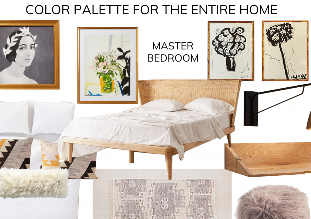 color palette for bedroom
