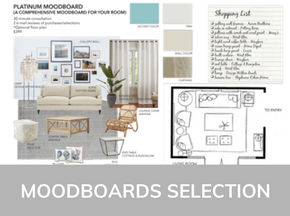 MoodBoards Collection From Sea Interior Design