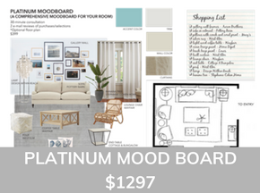 Platinum Mood Board From Sea Interior Design