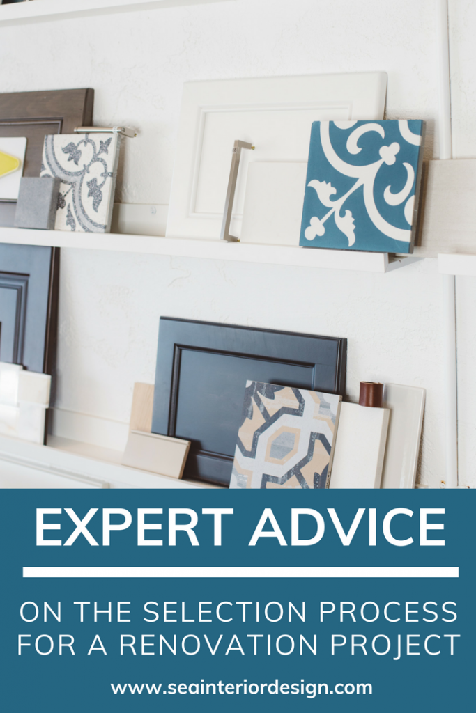 Expert Advice On The Selection Process For A Renovation Project